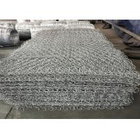 Wholesale Hot Dipped Electro Galvanized Stone Cage Wire Mesh 60x80mm Size ISO9001 Listed from china suppliers