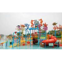 Wholesale Attractive Water Park Equipment Marine Theme Style Construction Play House from china suppliers