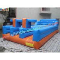 Wholesale PVC Inflatable Bungee Run Triple Lane,Three LaneInflatable Sports Games Bungee from china suppliers