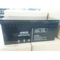 6FM200 VRLA Valve Regulated Lead Acid Battery 12v 200ah Solar Power Storage Batteries
