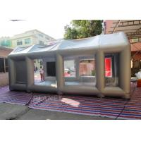 Wholesale 7m Long Inflatable Spray Booth With Blower Fire - Retardant EN14960 SGS CE from china suppliers