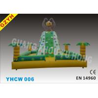 Wholesale Commercial 0.55mm PVC Tarpaulin Outdoor Chrildren Inflatable Climbing Wall YHCW 006 from china suppliers