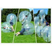 Buy cheap CE Pump 1.0mm PVC Knocker Inflatable Bumper Ball Transparent For Soccer Game from wholesalers