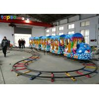 Wholesale Indoor Little Kid Roller Coaster 18 Seat Ocean Kids Track Train Rides from china suppliers