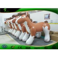 Wholesale Anti-UV 10 ft Inflatable Toys For Toddlers Outdoor Holiday Inflatables Fat Horses from china suppliers