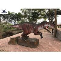 Buy cheap Artificial Custom Dinosaur Garden Statue For Jurassic World Decoration from wholesalers