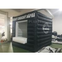 Wholesale Black Small Inflatable Advertising Tent Oxford Cloth Logo Printing from china suppliers