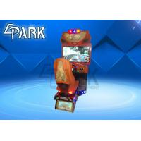 Coin Operated Car Racing Game Machine High Speed For Amusement Park