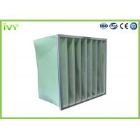 Wholesale MERV 5 - 14 Industrial Air Filter 50 - 80Pa Initial Pressure Drop Aluminium Frame from china suppliers