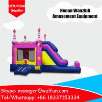 Quality air bouncer inflatable trampoline/tunnel bouncer combo/inflatable bouncer castle for sale for sale
