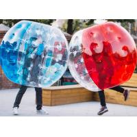 Buy cheap 1.2m, 1.5m, 1.8m PVC And TPU Human Size Inflatable Bubble Soccer / Football from wholesalers