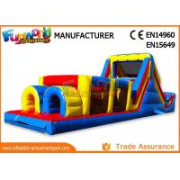 Wholesale Sports Challenge Outdoor Inflatable Obstacle Course For Adults CE UL SGS from china suppliers