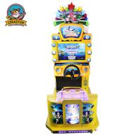 China Colorful Themed Driving Arcade Machine With Clear 22 Inch LCD Screen on sale