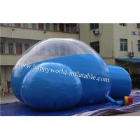 Wholesale igloo tent , igloo inflatable clear tent , inflatable clear dome tent , half clear tent from china suppliers