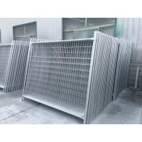 Wholesale 14 Microns Building Site Security Fencing Panels Temporary Fences For Renters from china suppliers