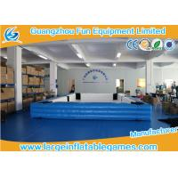 Buy cheap Snooker Ball Game Inflatable Playground , Billiards Inflatable Football Pool from wholesalers