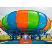 Wholesale Behemoth Space Bowl Water Slide Water Park Equipment 11m Platform Height from china suppliers