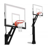 Wholesale School Basketball Hoop Stand Basketball Adjustable Height Weather Proof Nylon Net Material from china suppliers