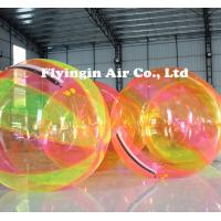 China Water Game Multicolor TPU Inflatable Water Walking Ball for Sale on sale