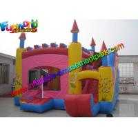 Quality Trink Bell Vinyl Inflatable Bouncy Slide , Inflatable Combo Jumping Castle for sale