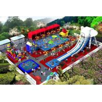 China High Strength Inflatable Water Parks With 0.9mm PVC Tarpaulin on sale