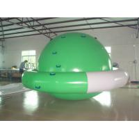 Wholesale Durable Double Layer PVC Fabric Inflatable Saturn Rocker Used in Family Pool from china suppliers