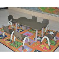 Wholesale New Design Children Plastic Furniture HDPE Material Adjustable Tables from china suppliers