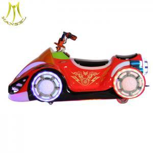 Buy cheap Hansel Amusement park kiddie rides motorbike children battery power amusement from wholesalers