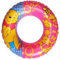China Verney Printed Inflatable Swimming Rings Plastic , PVC Swim Tubes on sale