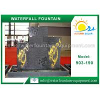 Buy cheap Outdoor Waterfall Fountain Cast Stone Outdoor Fountains For Garden Decoration from wholesalers