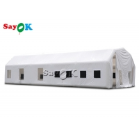 Wholesale Waterproof White 20x10x5.5mH Inflatable Automotive Paint Booth from china suppliers
