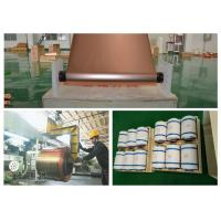 China 6um Thickness Copper Foil 540mm Width  for phone, Double Shiny Pure Copper SheetRoll on sale