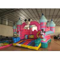 Wholesale Mickey Mouse Kids Inflatable Bounce House 4.5 X 5 X 3.5m For 3 - 15 years Old Children from china suppliers