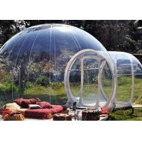 Quality Clear Outdoor Camping Tent Inflatable Transparent Bubble Tent CE Certification for sale