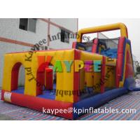 Wholesale 3 in 1 Combo Obstacle,inflatable obstacle course KOB056 from china suppliers