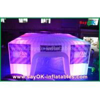 China Dome Inflatable Air Tent for Camping , Giant Bubble Led Party Tent on sale