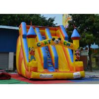 Fireproof Inflatable Bouncy Castle And Slide Customized For Little Kids Playing
