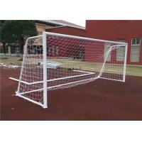 Wholesale Freestanding Public Sports Facilities , Aluminum Portable Soccer Goals from china suppliers