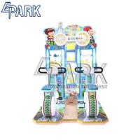 Happy Bicycle Kid Indoor Amusement Game Machines Coin Operated 150W