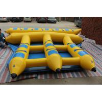 Wholesale Summer Watertoys 6 Seaters Inflatable Flying Fish Towable Red Orange Yellow from china suppliers