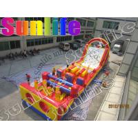 Wholesale Rent Large Inflatable Obstacle Course , Inflatable Outdoor Play Equipment from china suppliers
