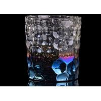 Wholesale Debossed Iridescent Glass Candle Holders For Wedding Home Decoration from china suppliers