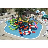 Buy cheap Giant Inflatable Water Park Equipments Aqua Tower Fiberglass with Galvanized from wholesalers