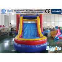 Wholesale Funny Bouncing Inflatables Rentals / Jumping Castle with Slide Combo Free Blower from china suppliers