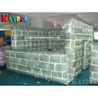 Wholesale Inflatable paintball Bunker Buidling,digital printing Deluxe Tactical Field,KPB030 from china suppliers