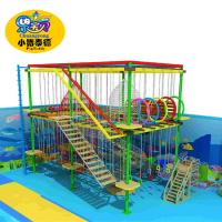 Wholesale Rope Course Outdoor Playground Equipment Commercial For Shopping Mall / Square from china suppliers