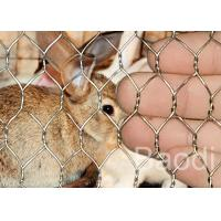 Wholesale Hot Dipped Galvanized Chicken Wire Mesh For Poultry Livestock Fencing 0.45 - 1.4mm from china suppliers