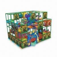 Wholesale Indoor Playground Equipment, Made of Sponge and Wooden Board from china suppliers