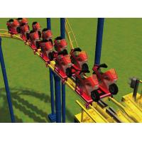 Wholesale Motorcycle Roller Coaster Amusement Park , 363M Racing Track from china suppliers