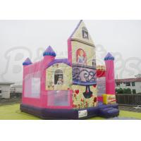 Wholesale Custom The Princess Inflatable Combo Bouncer For Frozen Anna Elsa In House from china suppliers